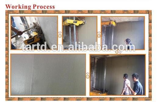 automatic wall rendering machine/ plaster machine for wall