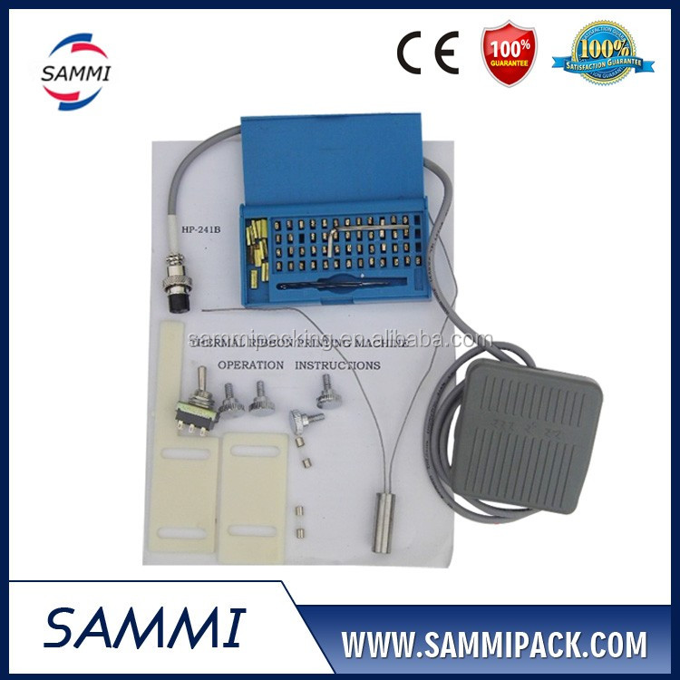 High quality Ribbon hot stamping date coding machine for sale