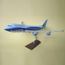 B747 Resin plane model,craft airplane model custom made,aircraft model