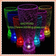 colorful custom led flashing cup