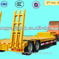 3 Axles 100ton Low Bed Loader