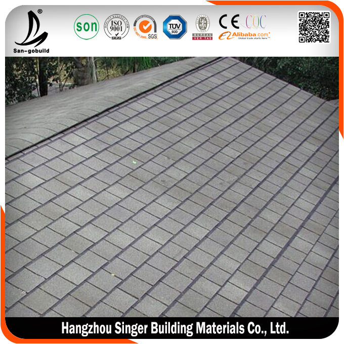 low price roofing shingles prices hot sale heat insulation