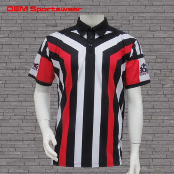 Stripe custom football shirt maker soccer jersey