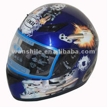 High quality scooter helmet, full face scooter helmet, visor scooter helmet