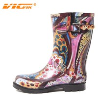 rubber boots wholesale, high heel rubber boots, ladies fashion shoes