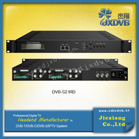 HD Digital ASI & 4 IP Box Satellite Receiver