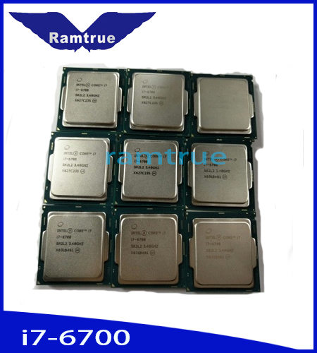 2017 New Product Of Cpus Hot Sale With Intel I7 6700 Procesadores Computer Pins Scrap