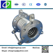 Mechanical coupling metal expansion bellow joints thick wall bellows