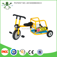 Patent children bike Ages 4-8 Kids Metal Tricycle with trailer