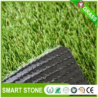 No infilled plastic grass carpet for garden artificial grass factory for landscape pet dogs