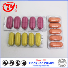 GMP certified 300mg Albendazole tabs for deer from China manufactuer