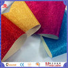 Hot Sale Woven Backing Pu Glitter