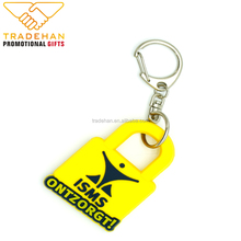 2018 Create Design Custom Fashionable Silicon keychain, Soft pvc keychain, Rubber key chain