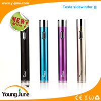 Hot selling!!! Tesla sidewinder 2 original product sidewinder e-cig mod with huge capacity 2000 mah battery