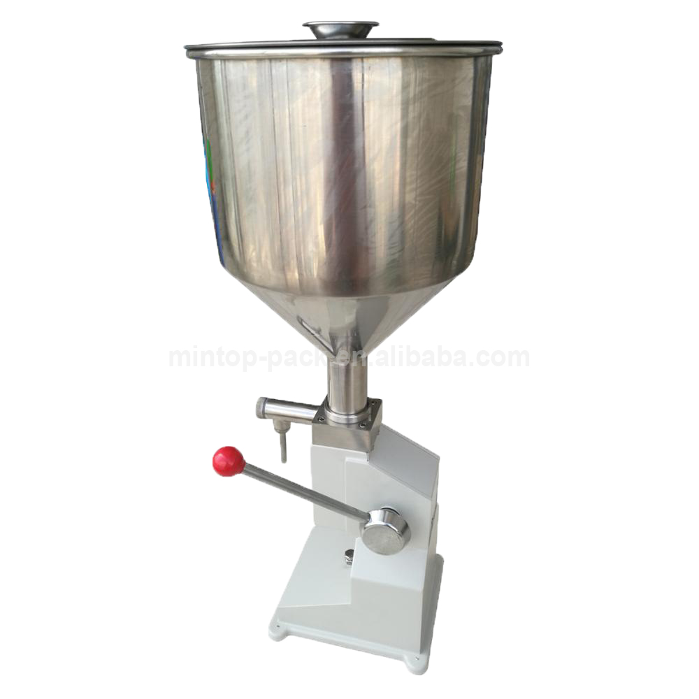 <strong>A03</strong> Manual Filling Machine for Chocolate Cream,Cheese Cream