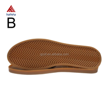 Size 35-45 Rubber Vulcanize Outsoles Argentina Flat Canvas Soles For Shoe Making