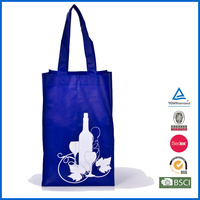 2014 new design popular wine bottle bag