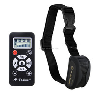 800 Yards Automatic Mode Pet Dog Training Bark Collar Remote Rechargeable & Waterproof & Safe Vibrating Training Collar