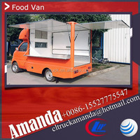 Cheap China Changan 4*2 69hp mobile catering food van for sale