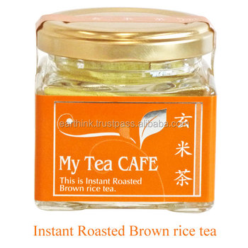 Japanese Instant Roasted Brown rice tea powder 30g My tea cafe Japanese powder tea