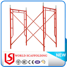 Different Size Walk Through Painted Frame Scaffold spigot For Building Construction
