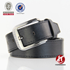 Classic Stitched PU Uniform Belt - Black Brown White