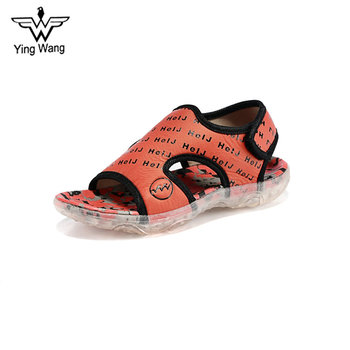 Latest Fashion Flat Heel Comfortable Kids Sport School Sandals
