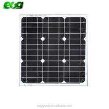 HOT SALE in Turkey 40w monocrystalline silicon solar panel for solar system