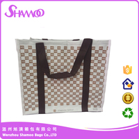shopping bag with pvc