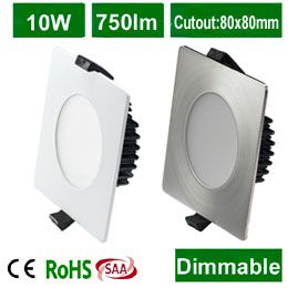 2014 new product australia standard 90mm dimmable square <strong>downlight</strong> led 13 watt