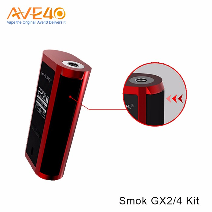 Smok GX2/4 Box Mod with TFV8 big baby Atomizer TWINS MISSION FORM