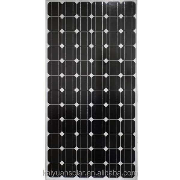 A-grade cell Crystalline Silicon solar panel system
