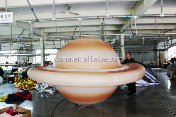 inflatable planet/inflatable moon/inflatable sphere nine planets Saturn