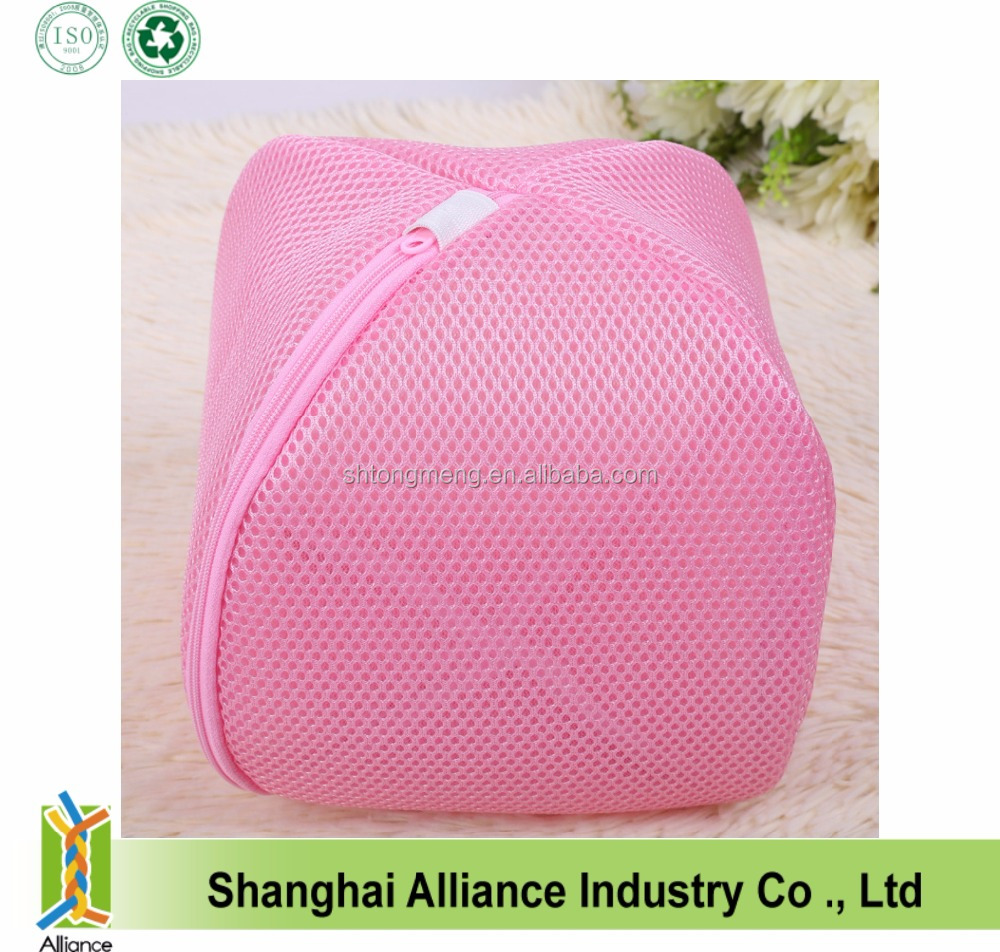 Wholesale custom Women Lady New Durable Net Laundry Washing Underwear Bra Bag(TM-LB-034)