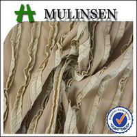 Mulinsen Textile New Fashion Omasum Polyester Spandex Moss Knitting Crinkle Fabric