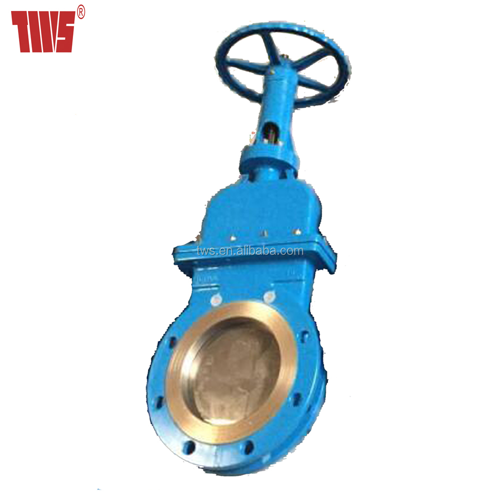Mud Stainless Steel Knife Gate Valve with HandWheel