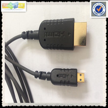 2.5mm 3.3mm coaxial type flexible light ultra silm HDMI cable