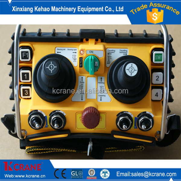 Best Price industry crane remote control/cranes wireless remote control