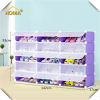 Wholesell Colorful Luxury Shoe Cabinet