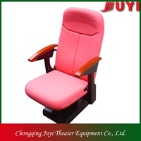 JY-765 factory price grandstand seating system retractable bleacher telescopic seat theater chair indoor gym seat