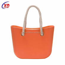 wholesale handbag china branded designer handbag/ o sacchetto delle donne di gomma