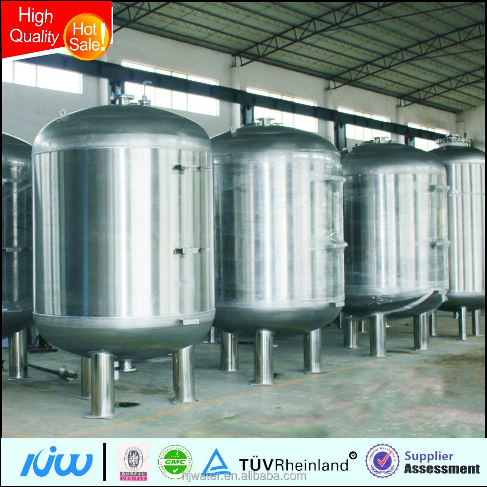 Hongjun commercial Frp softener tank ro water filter pressure tank for bottle production line HJ-0113