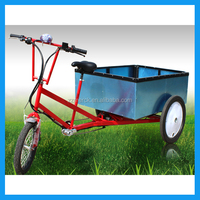 7 Speed Three Wheel Electric Cargo Tricycle