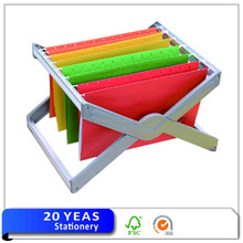 Custom cheap paper A3/A4/A5/A6/FC/Letter size suspension file folder