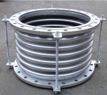 Hydroformed insulation metal bellows compensator