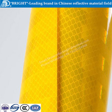 3m high intensity prismatic yellow reflective sheeting for safety vest shirt fabric