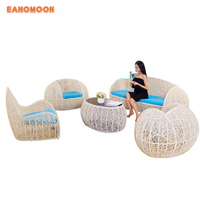 Luxury Outdoor Garden Plastic Rattan Furniture