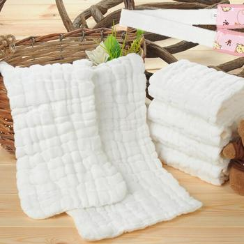 100% organic Cotton Bamboo Baby Muslin/gauze swaddle blanket fabric
