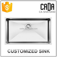 Hot Sale Rectangular Stainless Steel Undermount Franke Kitchen Sinks