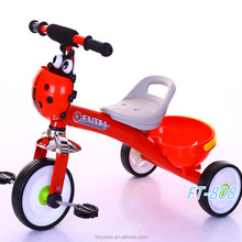Wholesale new style ride on toy car children rubber wheels baby tricycle